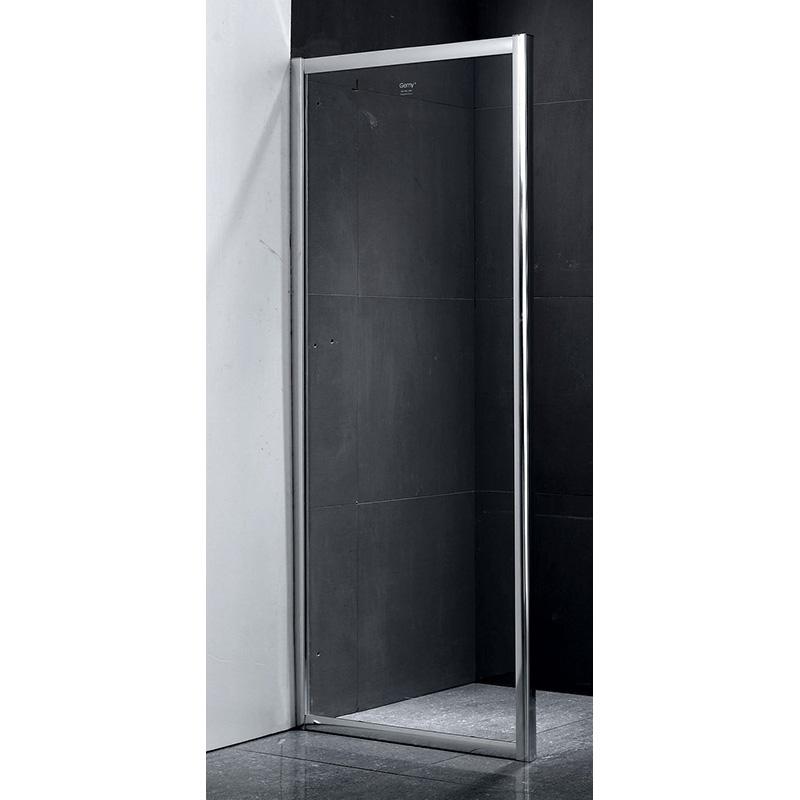 Боковая стенка Gemy Victoria 90х190 профиль Хром стекло прозрачное все цены