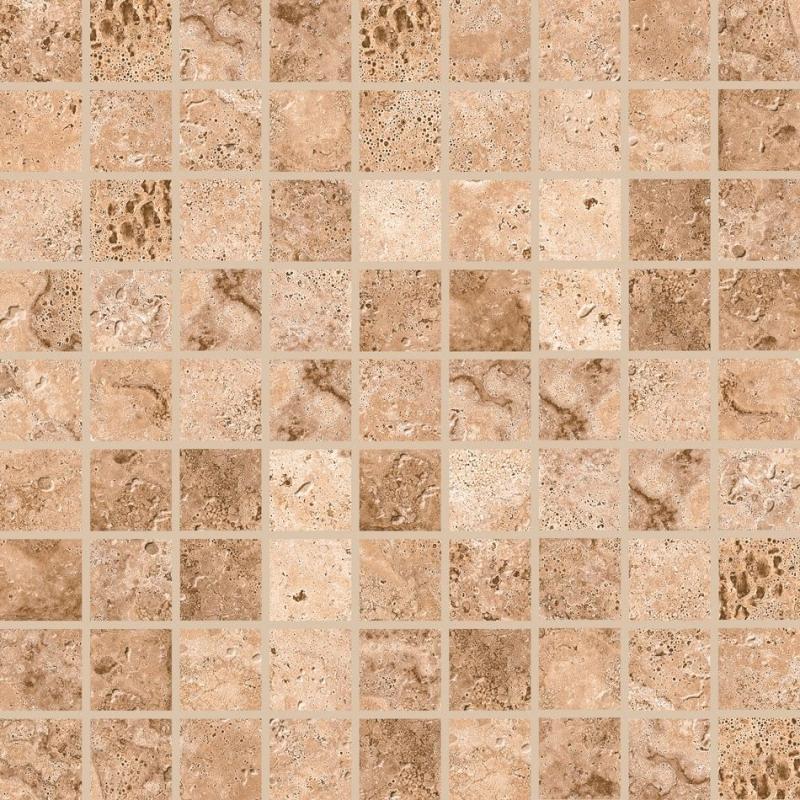 Керамическая мозаика Grasaro Tivoli коричневая G-243/m01 30х30 см цена 2017