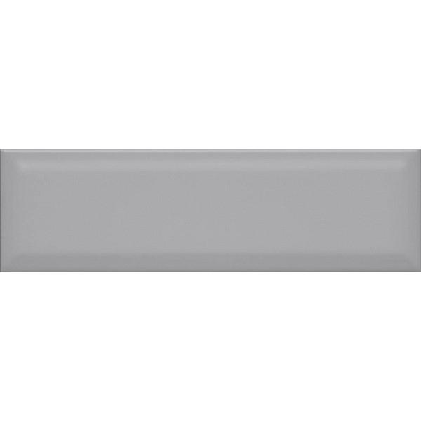 Керамическая плитка Kerama Marazzi Аккорд серый грань 9014 настенная 8,5х28,5 см