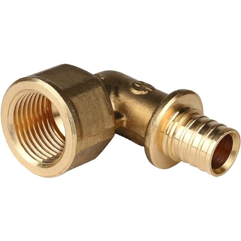 Фото - Угольник - переходник Stout SFA-0006-001612 для труб из сшитого полиэтилена переходник