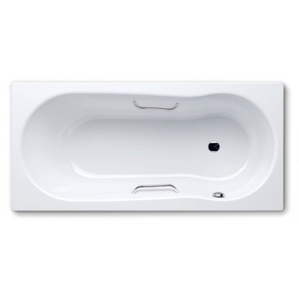 Novola Set Star 262 170 см c покрытиями anti-slip и easy-clean и отверстиями под ручки.Ванны<br>Kaldewei Novola Set Star 262 ванна c покрытиями anti-slip и easy-clean, и отверстиями под ручки. Одноместная с боковым расположением переливного отверстия. Ванна комбинированного типа – подходит как для принятия ванны, так и душа. Эмалированная сталь Kaldewei 3,5 мм.Anti-slip: антискользящее покрытие, обеспечивает безопасность при вступлении в ванну. Нескользящая эмаль anti-slip прочно связана со стальной эмалью Kaldewei 3,5 мм: структурированная поверхность из стойкой прожженной смеси кварцевого песка. Easy-clean: грязеотталкивающее антибактериальное покрытие, вода здесь собирается в капли, которые вбирают  в себя все частицы грязи и калька и легко смываются. При этом достаточно одного движения мягким, влажным полотенцем по покрытию easy-clean и ванна сияет как новая.  Цена указана за ванну с отверстиями под ручки, отдельно Вы можете приобрести дополнительное оборудование от фирмы Kaldewei.<br>