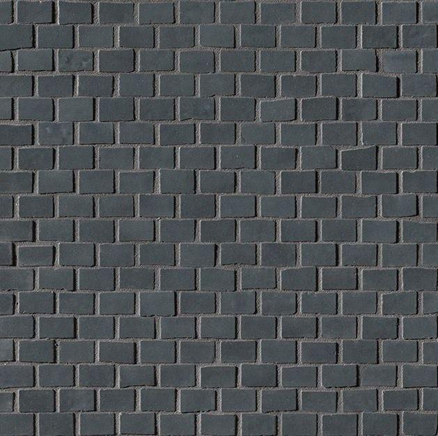 Керамическая мозаика Fap Ceramiche Brooklyn Brick Carbon Mos. 30х30 см керамическая плитка fap ceramiche roma nat calacatta mos 30 5х30 5 мозаика
