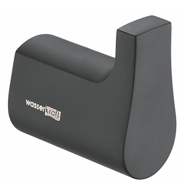 Крючок для полотенец WasserKRAFT Elbe K-7223 Черный midi контроллер novation launchpad mk2 компактный для ableton live 64 квадратных пэдов цвет черный