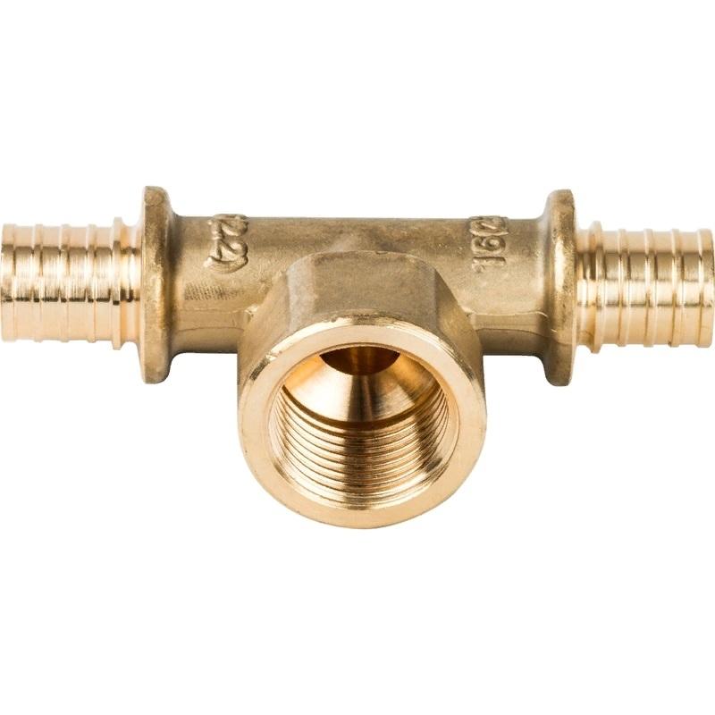 Фото - Тройник - переходник Stout SFA-0028-001612 для труб из сшитого полиэтилена переходник