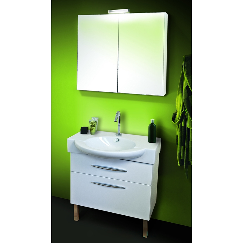 Presquile 80 Белый глянецМебель для ванной<br>Подвесная тумба под раковину Jacob Delafon Presquile 80 EB927-J5 с двумя выдвижными ящиками.<br>Строгий и лаконичный дизайн тумбы дополнит интерьер большинства ванных комнат в современном стиле. Функциональность и удобство модели придутся по душе всей семье.<br>Изготовлена из МДФ с декоративной отделкой. Она защищает мебель от воды и механических повреждений, проста в уходе. Материалы устойчивы к выцветанию и предназначены для использования в помещениях с повышенной влажностью.<br>Два выдвижных ящика со встроенными доводчиками.<br>Мягкий и плавный ход ящиков с функцией Soft Close. Ручки с покрытием цвета хром.<br>Цвет: белый глянец.<br>Монтаж: комбинированный.<br>В комплекте поставки: тумба под раковину, ножки.<br>