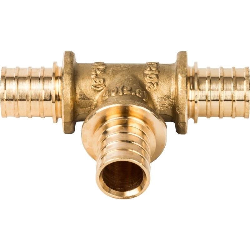Тройник Stout SFA-0013-000020 для труб из сшитого полиэтилена тройник stout переходной 26х20х16 для металлопластиковых труб прессовой sfp 0005 262016