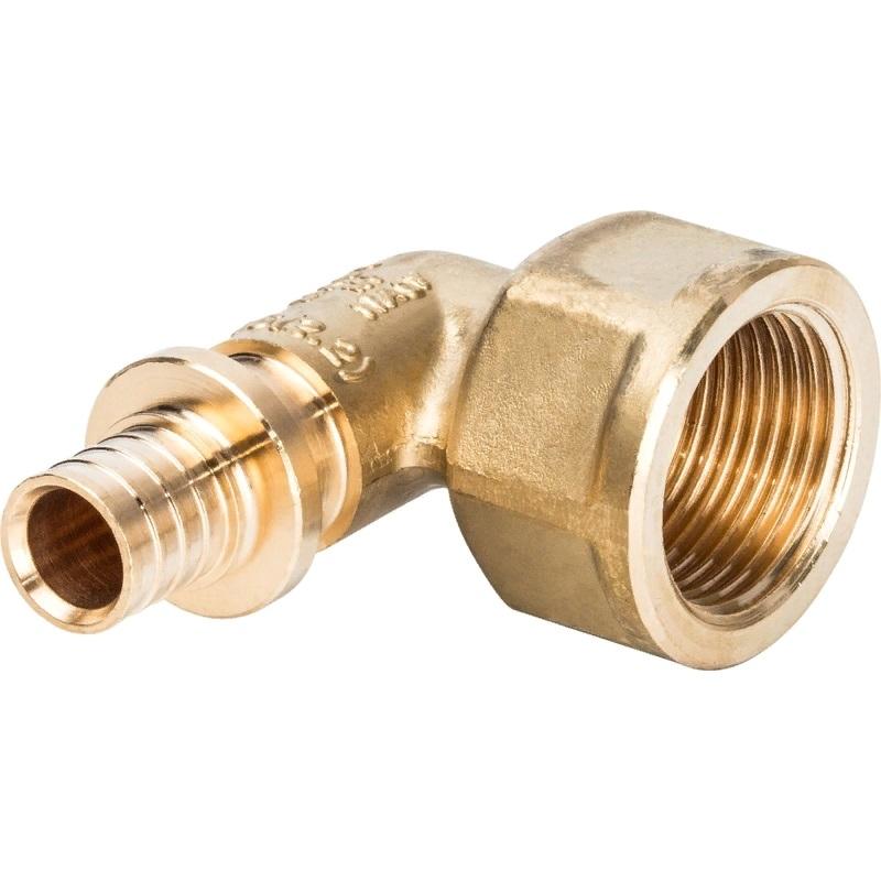Фото - Угольник - переходник Stout SFA-0006-001634 для труб из сшитого полиэтилена переходник