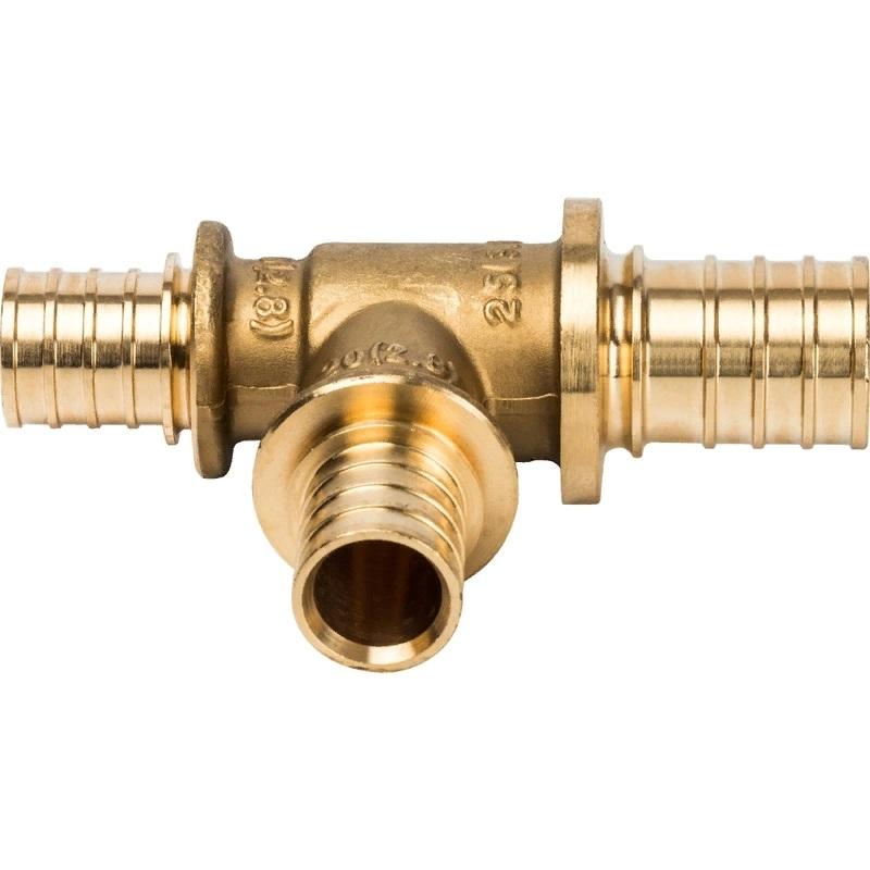 Тройник Stout SFA-0014-252020 для труб из сшитого полиэтилена тройник stout переходной 26х20х16 для металлопластиковых труб прессовой sfp 0005 262016