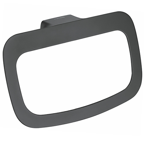 Кольцо для полотенец WasserKRAFT Elbe К-7260 Черное belki rings черное кольцо numbers