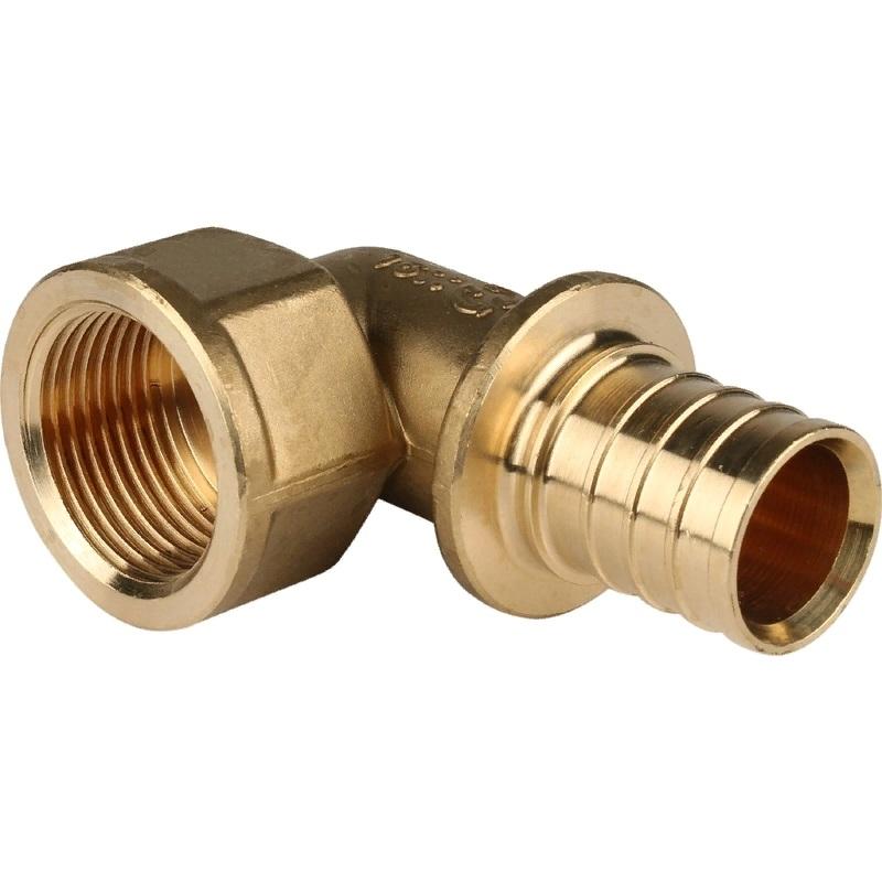 Фото - Угольник - переходник Stout SFA-0006-003210 для труб из сшитого полиэтилена переходник