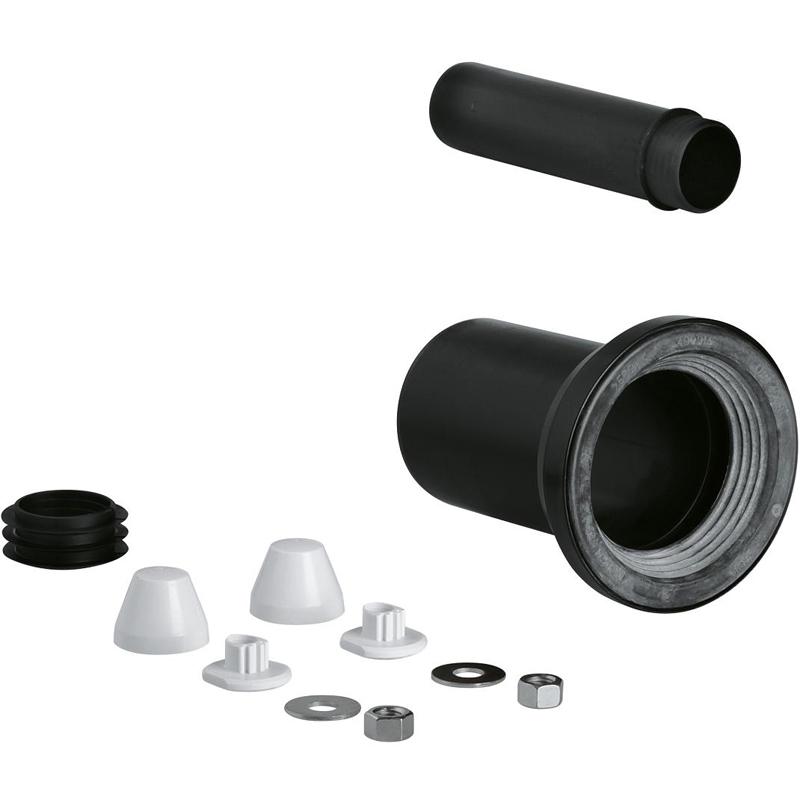 Впускной/выпускной патрубок для унитаза Grohe 37311K00 Черный