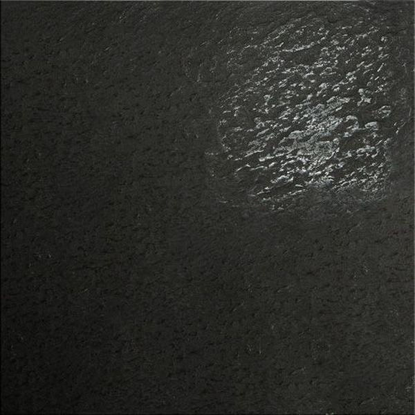 Керамогранит Керамика будущего Моноколор CF 013 черный лапат LR 60х60 см