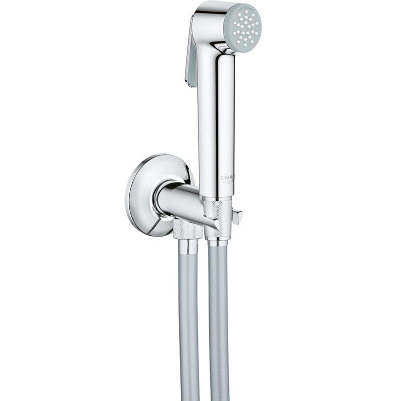 Гигиенический душ Grohe Tempesta-F Trigger Spray 26358000 Хром гигиенический душ grohe tempesta f trigger spray 30 подвод воды 26358000