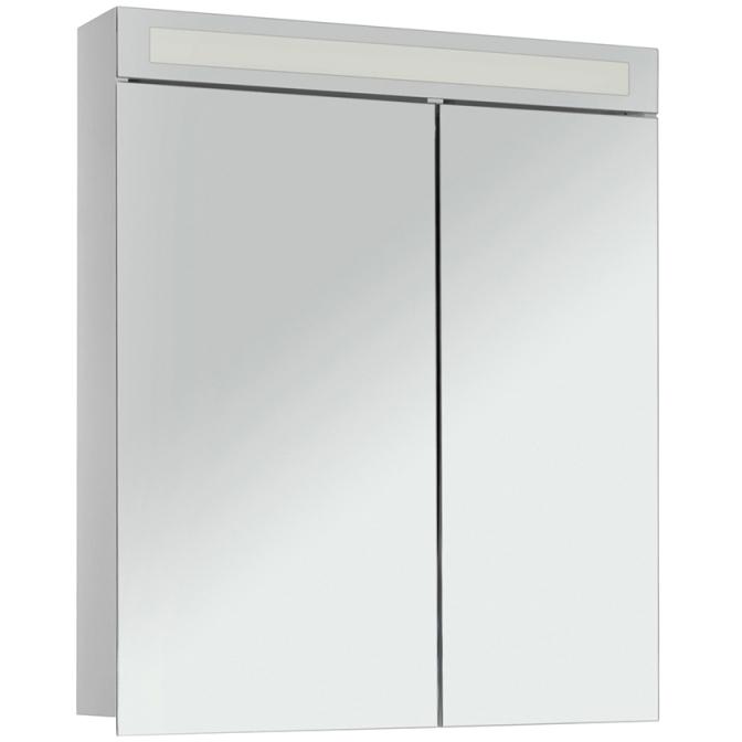 Зеркальный шкаф Dreja Eco Uni 70 Белый