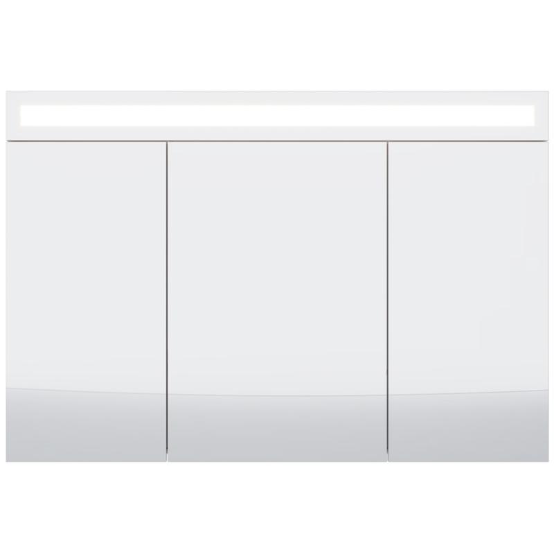 зеркальный шкаф dreja uni 99 9001 Зеркальный шкаф Dreja Eco Uni 120 99.9013 Белый