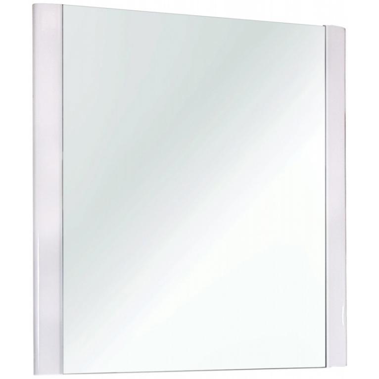 Зеркало Dreja Eco Uni 75 Белое зеркало dreja uni 85