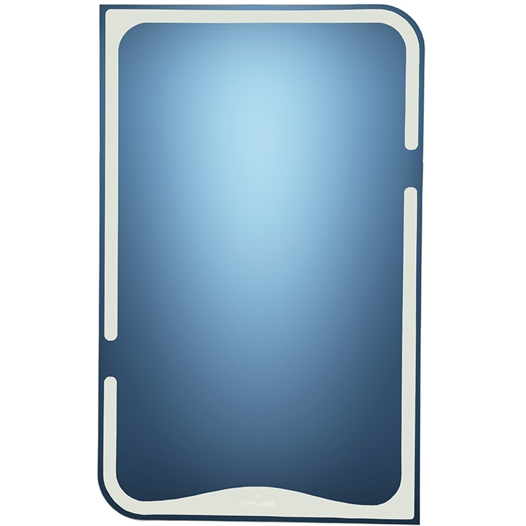 цена Зеркальный шкаф Cersanit Basic 50 Белый N-LS-BAS онлайн в 2017 году