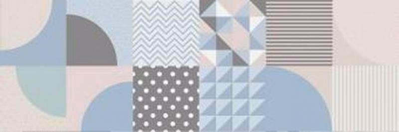 Керамическая плитка Cifre Cromatica Decor Mix Brillo настенная 25х75 см