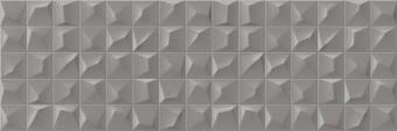Керамическая плитка Cifre Cromatica Kleber Antracite Brillo настенная 25х75 см