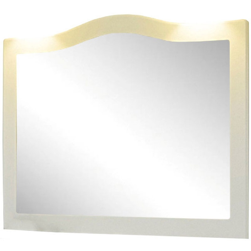 Зеркало Comforty Монако 120 Белое зеркало comforty монако 120 белое