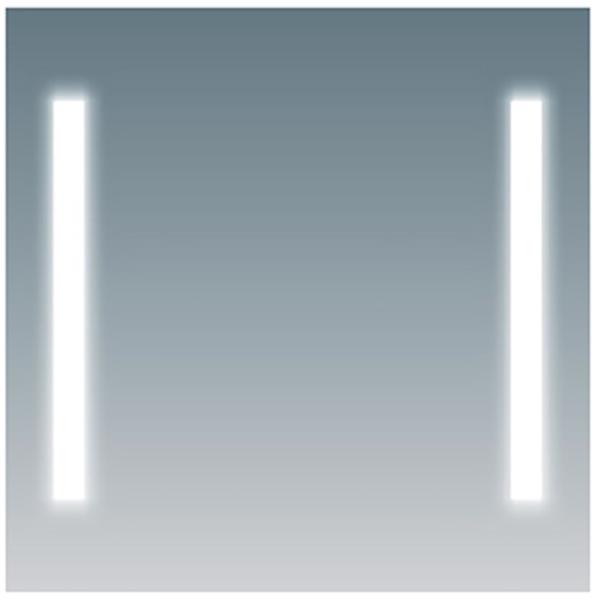 Зеркало Comforty Жасмин 75 4140519 с подсветкой с сенсорным выключателем