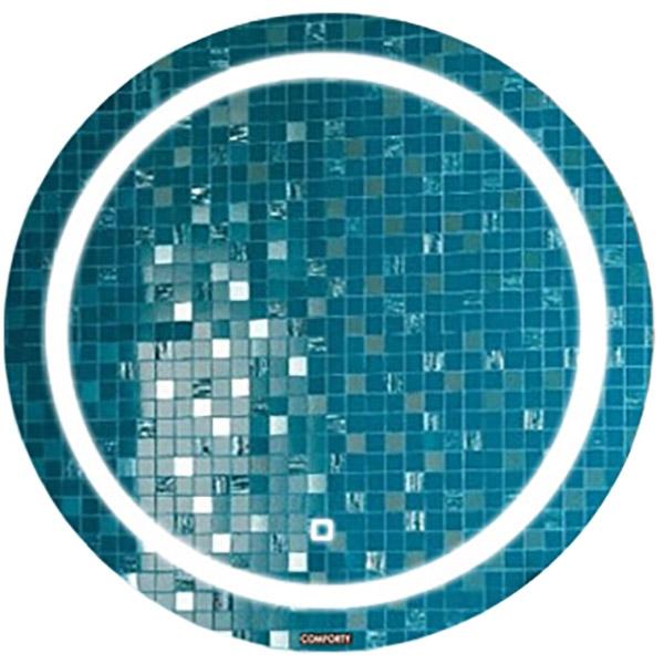 Зеркало Comforty Круг 60 с подсветкой и сенсорным выключателем зеркало sanvit кубэ 60 с подсветкой с сенсорным выключателем