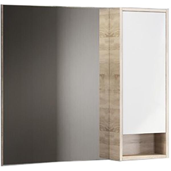 Зеркало со шкафом Comforty Гамбург 90 4142227 Дуб сонома цена и фото