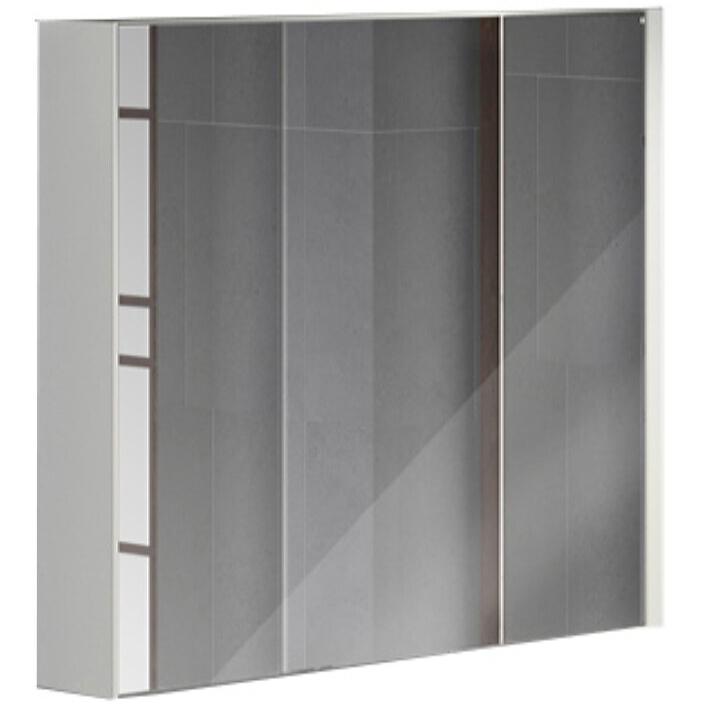 Зеркальный шкаф Comforty Женева 90 4137132 Дуб белый