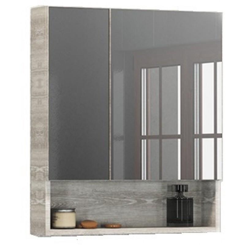 Зеркальный шкаф Comforty Никосия 60 4138878 Дуб белый цена и фото