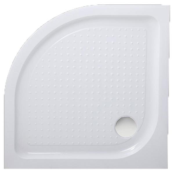 Акриловый поддон для душа BelBagno Tray 85x85x15 Белый с антискользящим покрытием фото