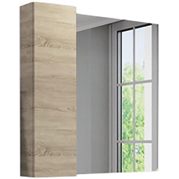 Зеркальный шкаф Comforty Тромсе 80 Дуб сонома мужские часы citizen ca0650 82f