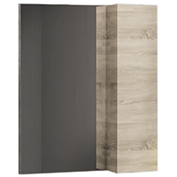 Зеркало со шкафом Comforty Тромсе 60 4142221 Дуб сонома цена и фото