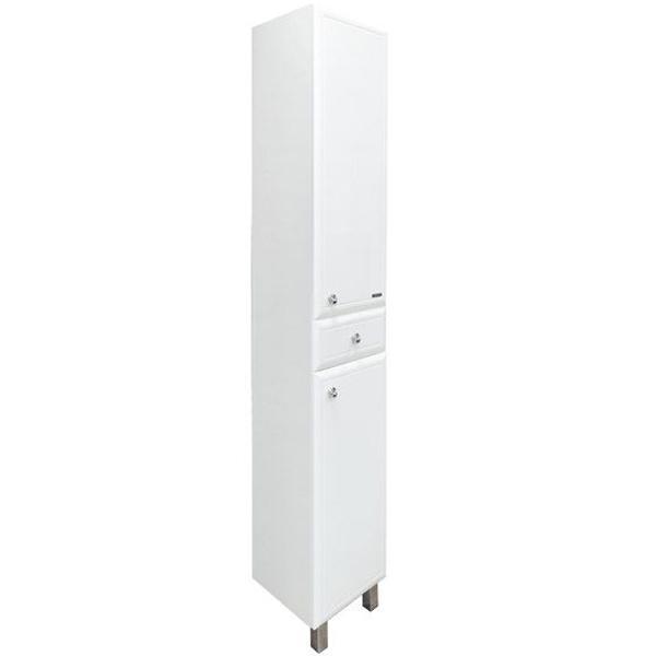 Шкаф пенал Comforty Сочи 35 4136987 Белый глянец