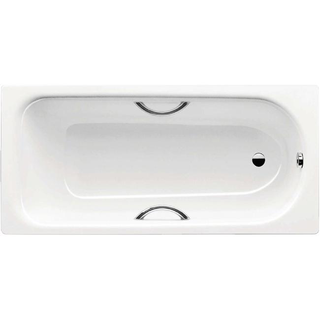 Стальная ванна Kaldewei Saniform Plus Star 333 160х75 с отверстиями под ручки без покрытия фото