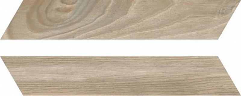 Керамогранит Rondine Woodie Chevron Brown 7,5х40,7 см напольная плитка rondine group woodie chevron blue 7 5x40 7