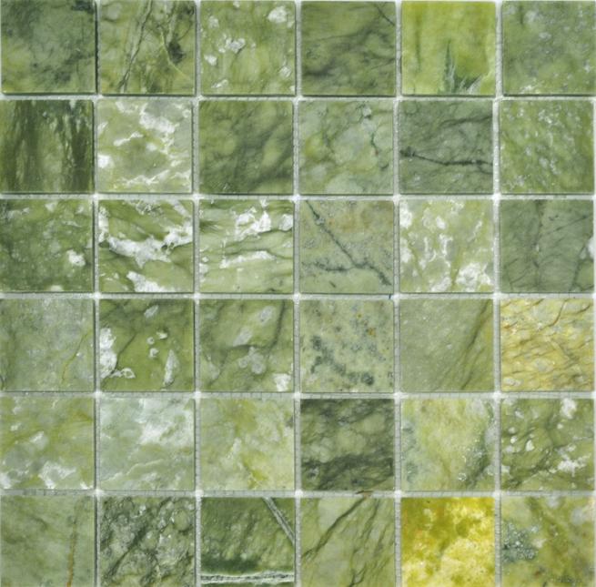 Каменная мозаика Colori Viva Jade Mos.Polished Verde CV20002 30,5х30,5 см каменная мозаика colori viva emperador mos mix cv20090 30 5х30 5 см