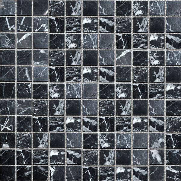 Каменная мозаика Colori Viva Nero-Brown Mos.Polished Nero Oriental CV20046 30,5х30,5 см gironacci 550 nero panna