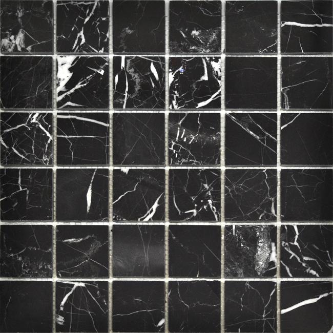 Каменная мозаика Colori Viva Nero-Brown Mos.Polished Nero Oriental CV20008 30,5х30,5 см gironacci 550 nero panna