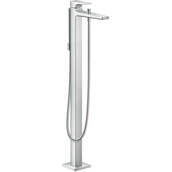 Смеситель для ванны Hansgrohe Metropol 32532000 Хром смеситель для ванны и душа hansgrohe metropol 74540000 хром