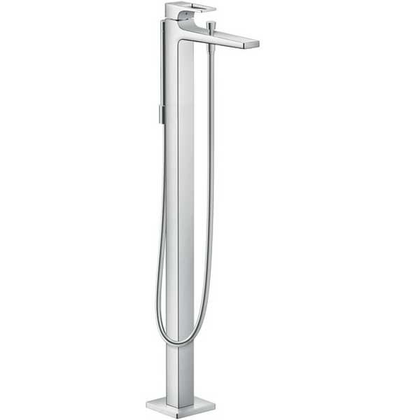 Смеситель для ванны Hansgrohe Metropol 74532000 Хром смеситель для ванны и душа hansgrohe metropol 74540000 хром