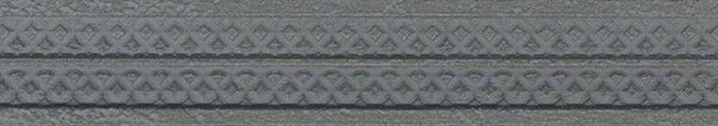 Керамический бордюр Aparici Steel Grey Cenefa B 4,5х25,3 см