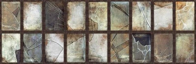 Керамическая плитка Aparici Steel Oxidum Frame настенная 25,2х75,9 см