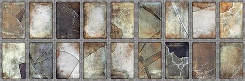 Керамическая плитка Aparici Steel Grey Frame настенная 25,2х75,9 см