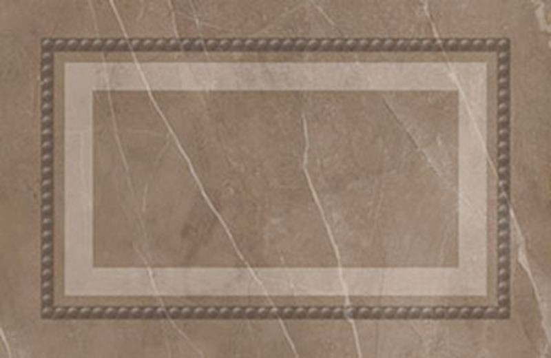 Керамический плинтус Керлайф Amani Zoc. Classico Marron 31,5х20,6 см керамическая плитка керлайф amani classico marron 1с настенная 31 5х63 см