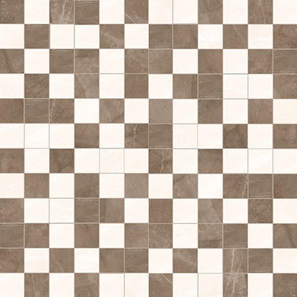 Керамическая мозаика Керлайф Amani Avorio Marron 29,4х29,4 см керамическая плитка керлайф amani classico marron 1с настенная 31 5х63 см