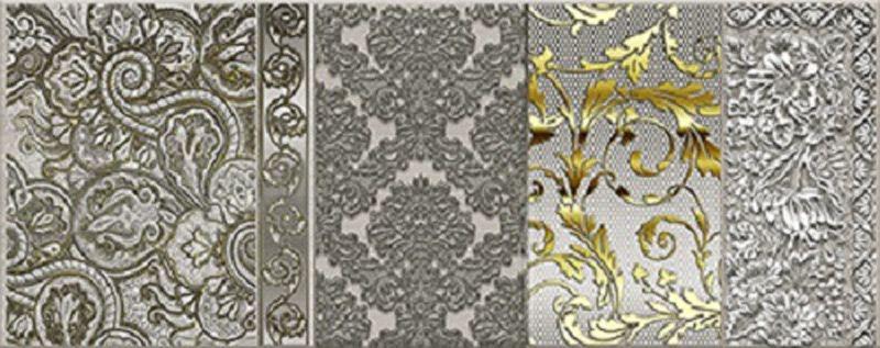 Керамический декор Керлайф Diana Grigio 1 20,1х50,5 см