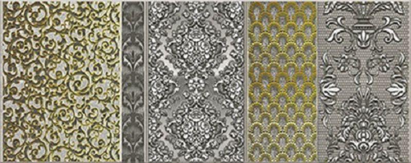 Керамический декор Керлайф Diana Grigio 2 20,1х50,5 см