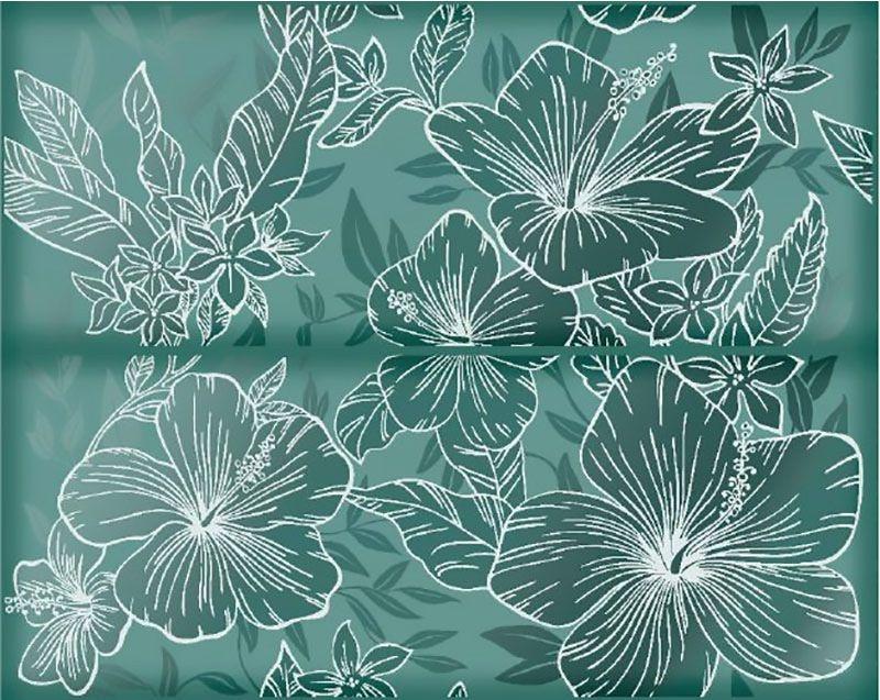 Керамическое панно Керлайф Elissa Flore Mare 40,2х50,5 см