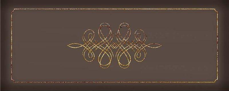 Керамический декор Керлайф Elissa Bello Marrone 20,1х50,5 см