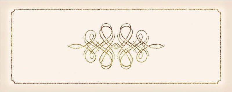 Керамический декор Керлайф Elissa Bello Marfil 20,1х50,5 см